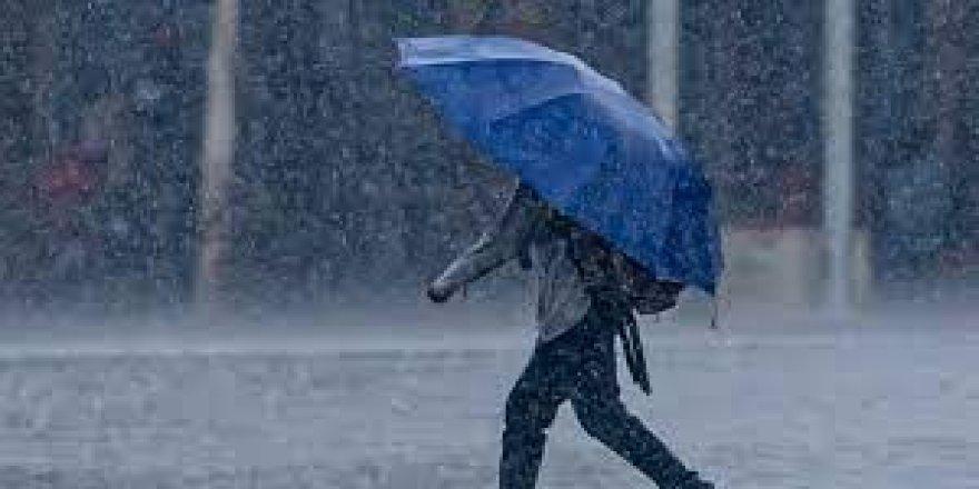 Meteoroloji'den 5 Kürt kenti için sağanak yağış uyarısı