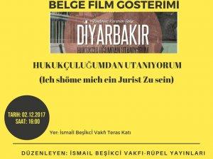 Belge Film Gösterisi Duyurusu