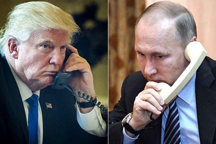 Trump'la Putin Telefonda görüştü!