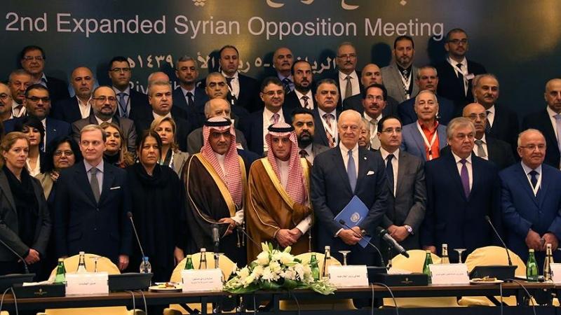 Soçi Zirvesiyle aynı gün Riyad'da Suriye muhalefeti toplantısı!(güncellendi)