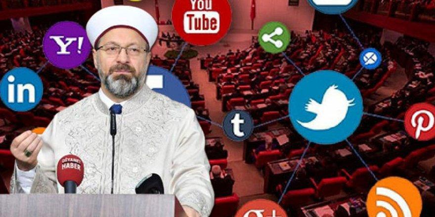 Diyanet öneriyor; Sosyal medya yasası FIKIH'a göre düzenlensin...