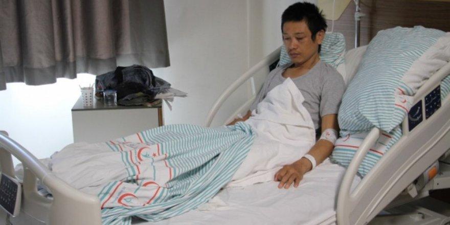 Bisikletle dünyayı gezen Japonyalı Shogan Kameda Elazığ'da bıçaklandı