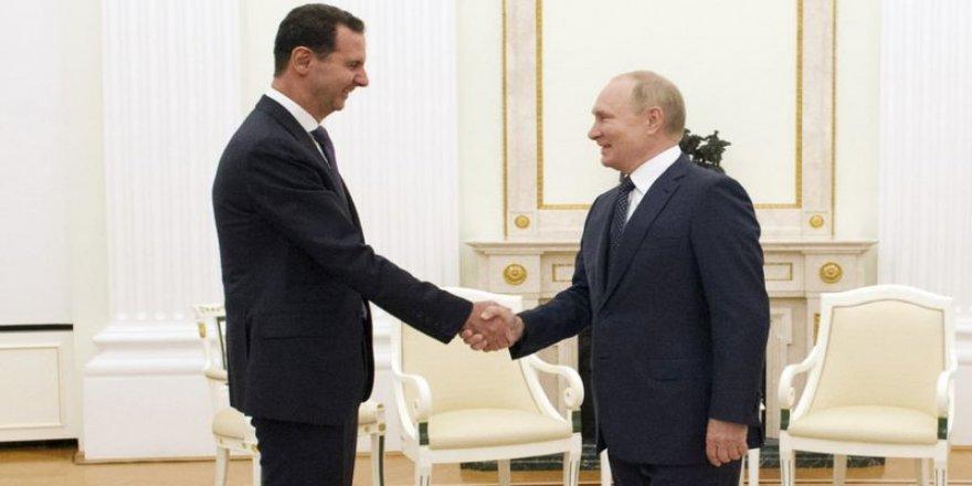 Putin, Esad'ı Moskova'da ağırladı: Suriye'de en büyük sorun yabancı silahlı güçler