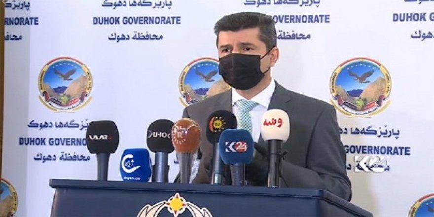 Duhok Valisi: PKK, Baas siyasetini sürdürüyor