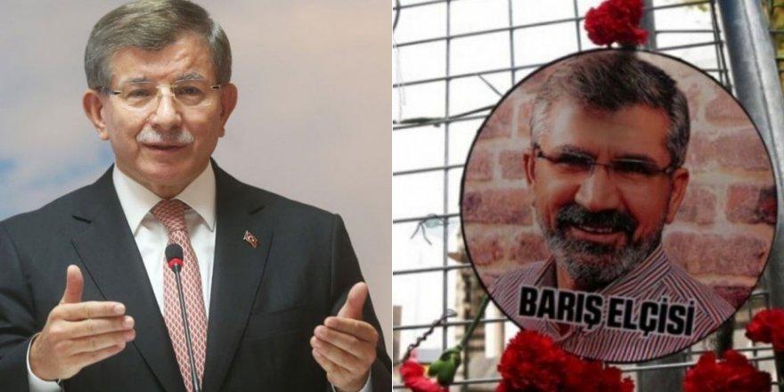 Avukatlar Davutoğlu'nun Tahir Elçi davasında dinlenmesini talep etti
