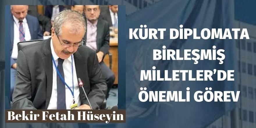 Kürt diplomata Birleşmiş Milletler'de önemli görev