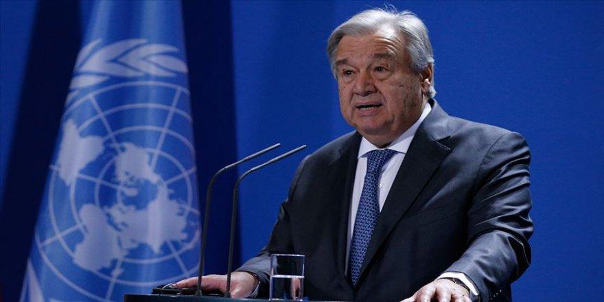 BM Genel SekreteriGuterres: Alarmı çalmak için buradayım