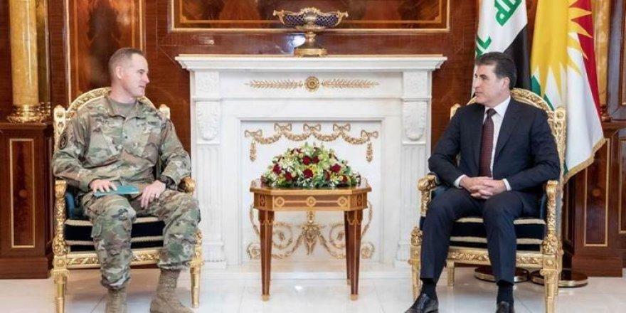 Neçirvan Barzani ABD heyeti ile Peşmerge Bakanlığı'ndaki reformları görüştü