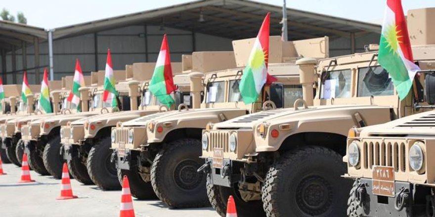 Koalisyondan Peşmergeye askeri yardım