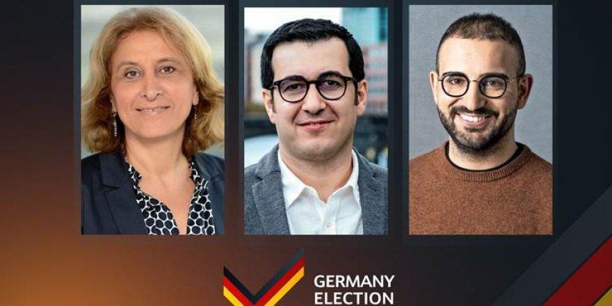 ALMANYA SEÇİMLERİ – İlk sonuçlara göre üç Kürt aday meclislere seçildi