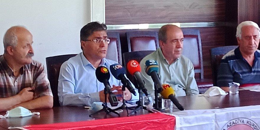PAK Başkanı Özçelik: Kürdistan üzerindeki bütün yasaklar ortadan kaldırılmalı