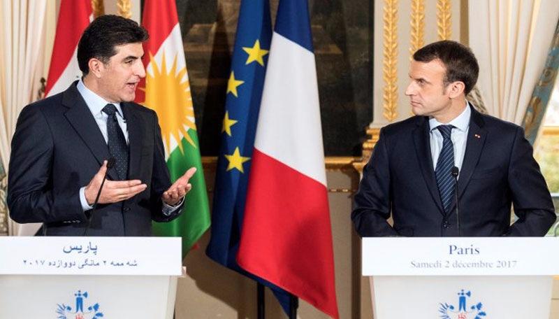 Başbakan Barzani Paris'te