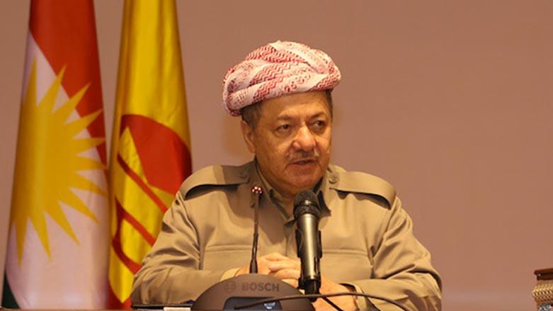 Mesut Barzani: İhanete beyaz bayrak kaldırmayacağız!