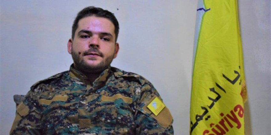 DSG Sözcüsü: Suriye'deki Türk askeri müdahalesi bölgeyi en kötüye götürüyor