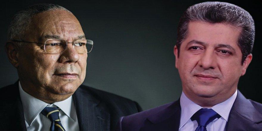 Başbakan Barzani'den başsağlığı mesajı: Powell bölgede kalıcı barış istiyordu