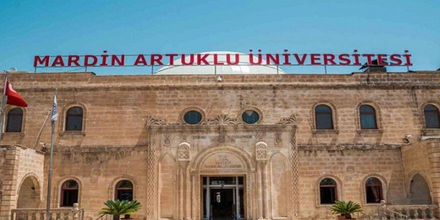 Artuklu Üniversitesi'nden adrese teslim kadro ilanı