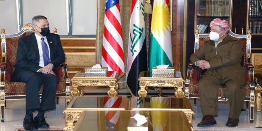 Başkan Barzani ile ABD Büyükelçisi bir araya geldi
