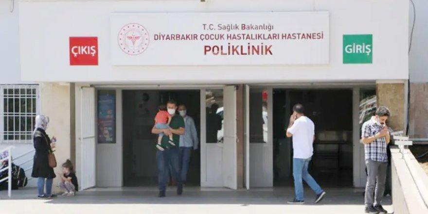 Diyarbakır'da çocuk acil servisleri ana-baba günü