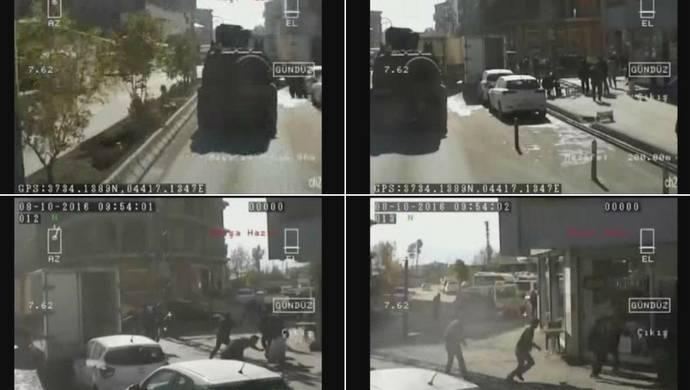 Yüksekova'daki katliam zırhlı aracın kamerasında!
