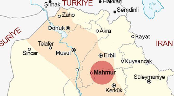 Maxmur'da patlama, 7 ölü