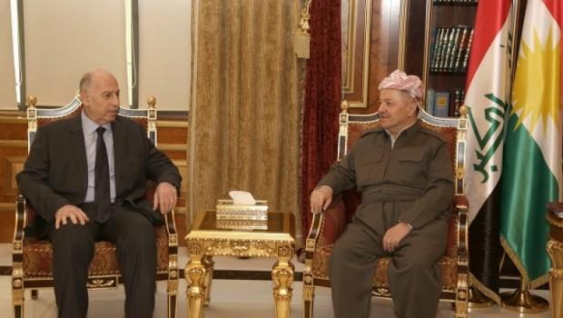 Mesut Barzani: Diyalogda hemfikiriz