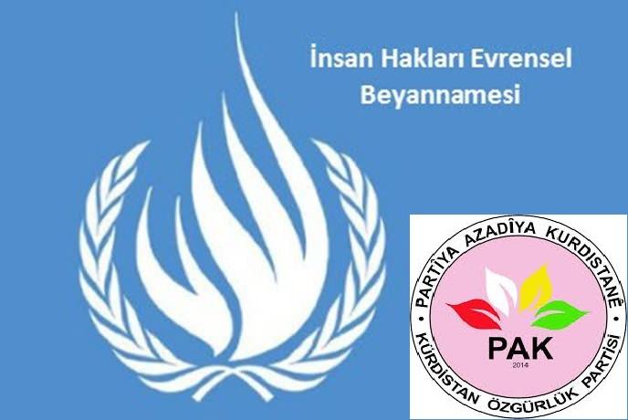 PAK'tan BM ve Dünya Devletleri'ne çağrı!