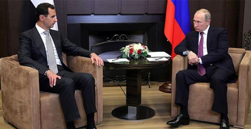 Putin Suriye'de askerlerine geri çekilme emri verdi!