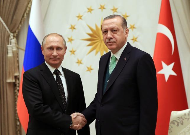 Putin Türkiye'de:Suriye tamamen teröristlerden temizlendi!