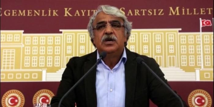 Mithat Sancar'dan mecliste Kurdistanî partiler çıkışı