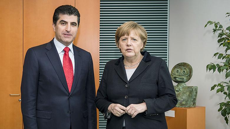 Merkel: Kürdistan'ın Anayasal haklarını destekliyoruz