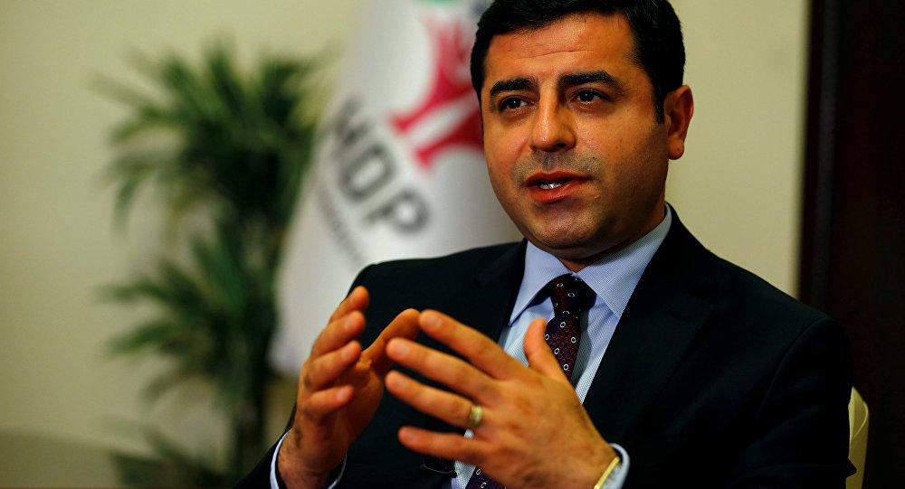 Demirtaş: Kürt karşıtlığı Türkiye'yi dış politikada edilgen kıldı