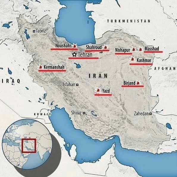 VİDEO/ İran protestolarından ölüm haberi!