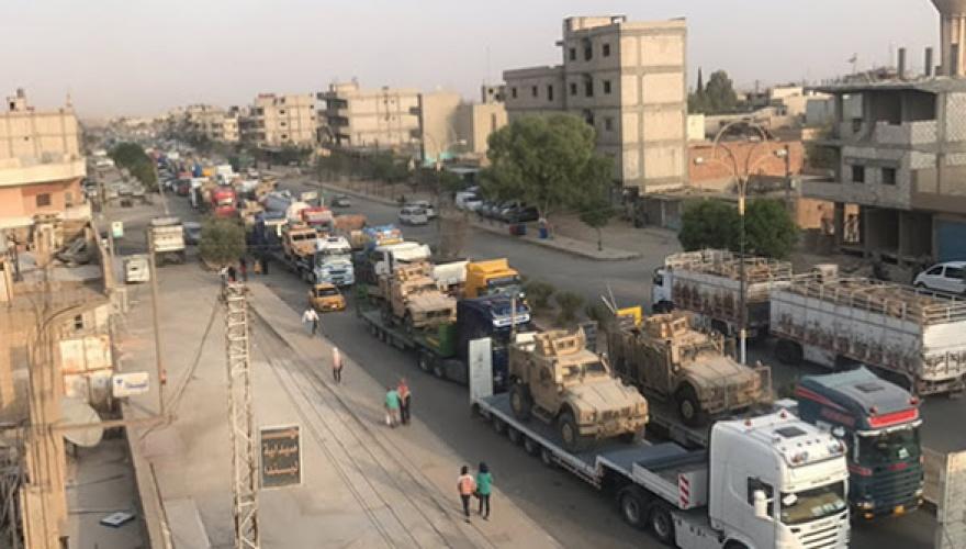 ABD'den YPG'ye 50 TIR silah yardımı