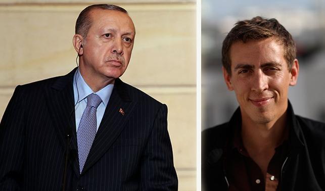 Erdoğan'dan Fransız gazeteciye: FETÖ ağzıyla konuşma!
