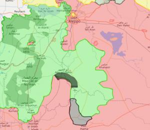 İdlib'te, Suriye Ordusu Abu Al Ahar Kentin Girişine Ulaştı