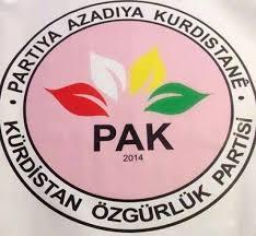PAK: Türkiye Devleti'nin Afrin'e saldırılarını ve işgal girişimini kınıyoruz