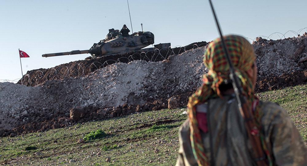 Başbakan Yıldırım,Efrin'e karadan girildiğini söyledi, YPG yalanlıyor!