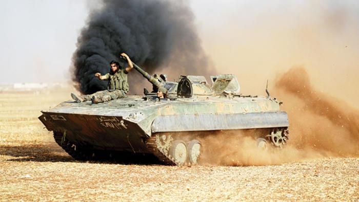 3 Türk tankı imha edildi, Alevi beldesi Mabata'ya yoğun hava saldırısı gerçekleştirildi!