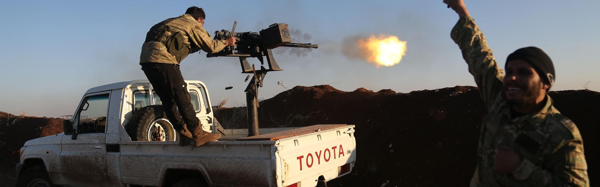 Rusya'nın 'Afrin'i Esad'a ver' talebi YPG tarafından reddedilince..