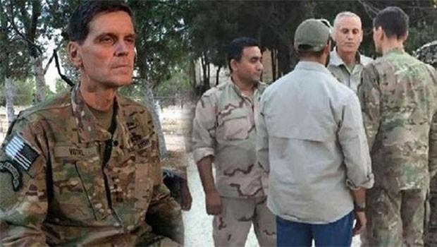 CENTROM Komutanı Votel Rakka'da YPG'lileri ziyaret etti