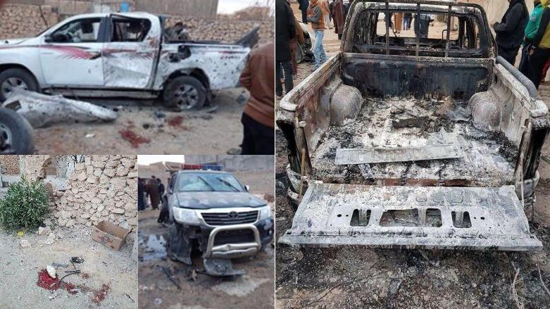 ABD savaş uçakları Anbar'da Irak güçlerini vurdu: 8 ölü
