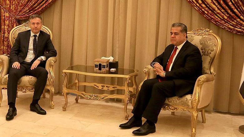 Türkiye Erbil Başkonsolosundan Mustafa'ya ziyaret: Efrin'de şimdiye kadar hiçbir sivile zarar verilmedi!