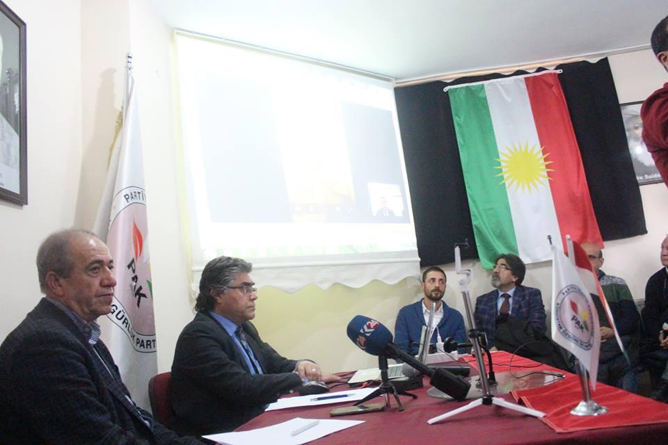 PAK Genel Başkanı Mustafa Özçelik ve MYK Üyesi Hanifi Turan Emniyet Müdürlüğü'nde İfade Verdiler