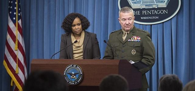 Pentagon: Türkiye'ye herhangi bir saldırıdan haberdar değiliz