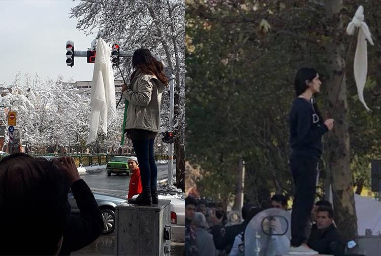 İranlı kadınların 'Beyaz Çarşamba' protestoları: 29 kadın tutuklandı