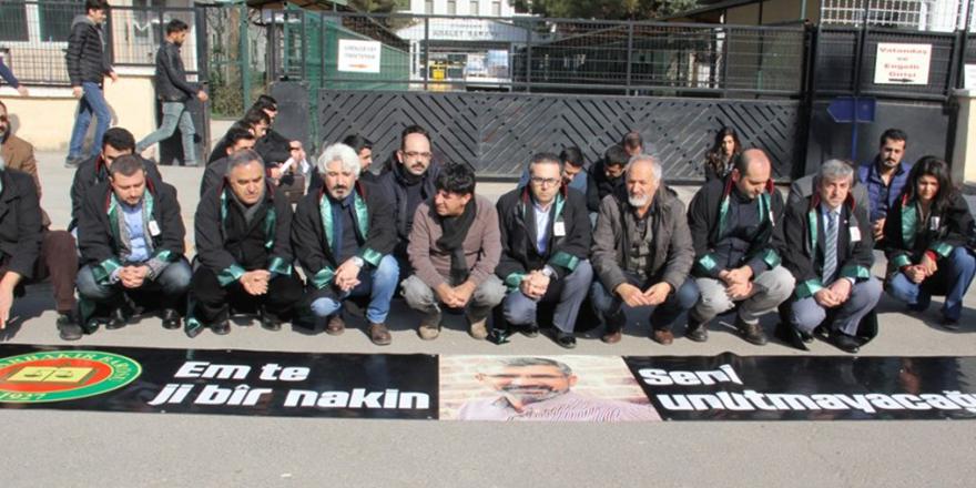 Diyarbakır Barosu: Soruşturma makamları Elçi cinayetini aydınlatmada isteksizler!