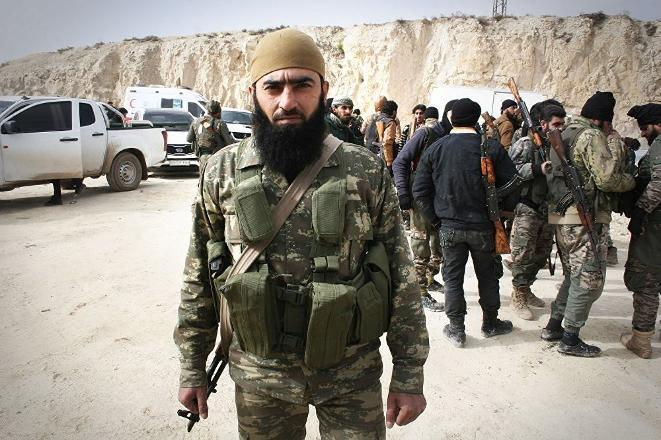 Efrin operasyonuna katılan bir komutan: 'Sivilleri vuruyorlar, evleri talan ediyorlar'