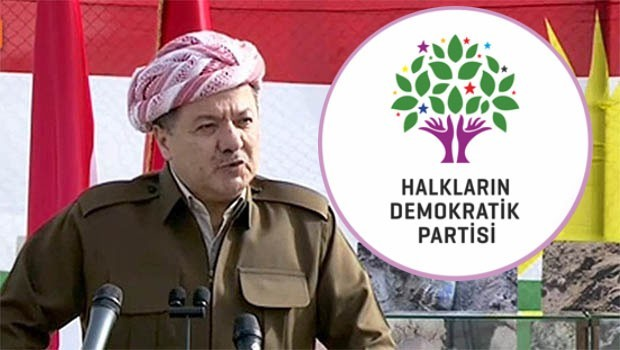 HDP, kongresine Başkan Mesut Barzani'yi davet etti