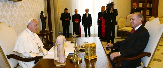 Vatikan'dan Erdoğan ziyaretine dair açıklama