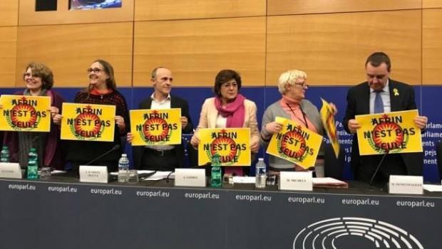"""Avrupa Parlamentosu'ndan Afrin çağrısı: """"Barış ve diyalog için, Türkiye Afrin'e saldırılarını durdursun"""""""